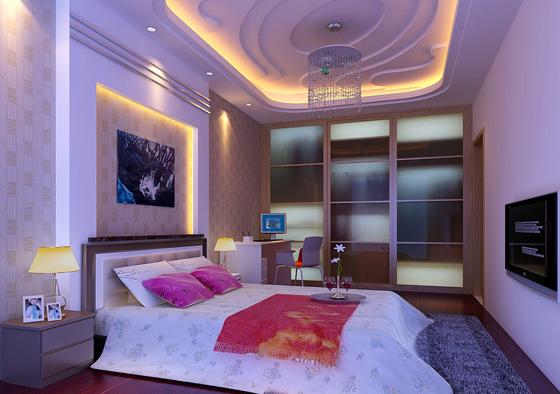 两房一厅装修设计 — 卧室1